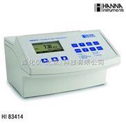 高精度浊度/余氯/总氯测定仪 型号:HANNA-HI83414