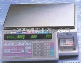 15kg/5g寺冈条码打印电子秤,超市打条码托利多电子桌秤