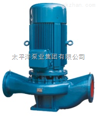 立式单级管道泵