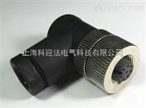 孔式弯头M12防水连接器生产厂家