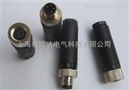 M8不带线连接器针|孔直头连接器厂家