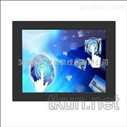 广东浙江上海厂家批发17寸嵌入式强固型工业触控显示器电容式多点触摸屏