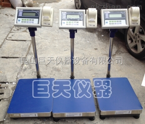 BSWC-60公斤计重电子台秤,UTE联贸BSWC-60kg电子称