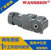 小型齿轮减速机40W60W带调速器