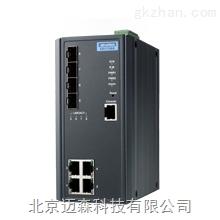 研华网管型EKI-7708E-4FI交换机