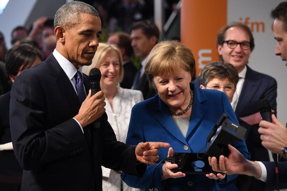 奥巴马和默克尔体验注册送59短信认证眼镜