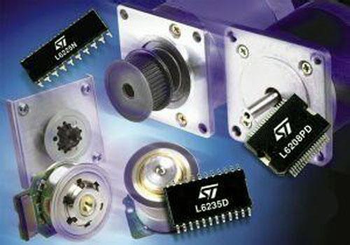 意法半导体发布全球最小微型电机驱动器
