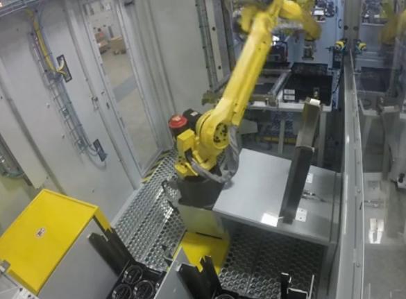 機器人毛刺自動打磨系統