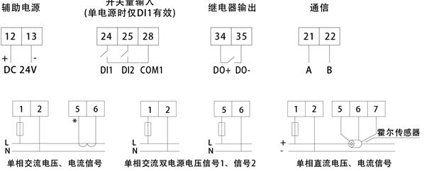 单相电源监控模块afpm1-av