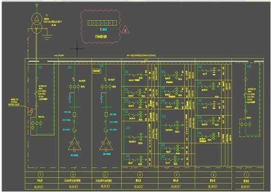 4kv变压器馈线柜.10kv配电间总共使用了8台m5-f微机保护装置.