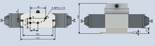 两位四通电磁配压阀dpw-8-63g/dpw-10-4.0厂家直供图片
