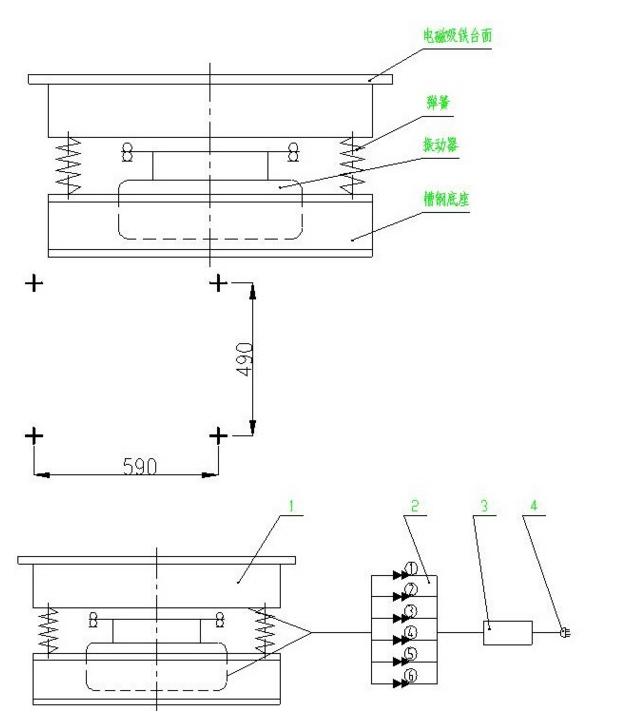 hzj-砌墙砖磁力振动台安装方法上海砌墙砖磁力振动台价格