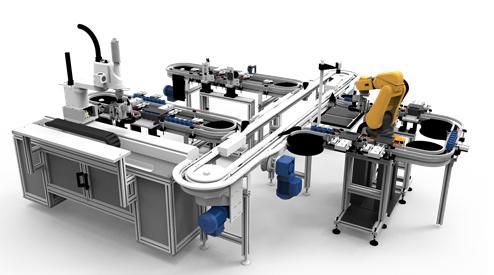 舜宇柔性智能自动化生产线的特点